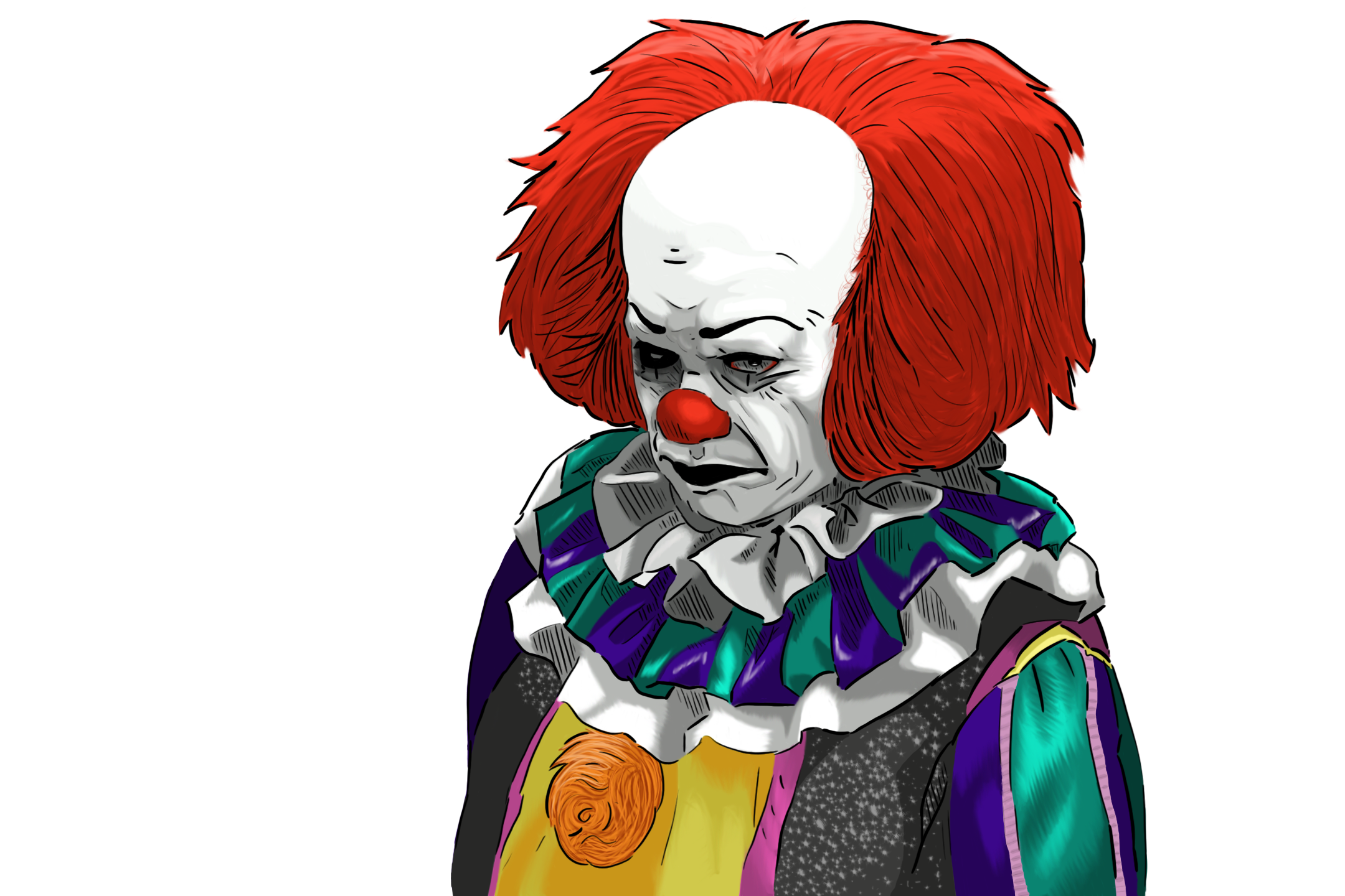 Pennywise the clown png. By omgxero on newgrounds