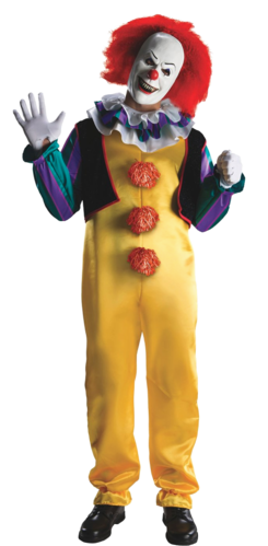 Pennywise the clown png. It costume halloween mask