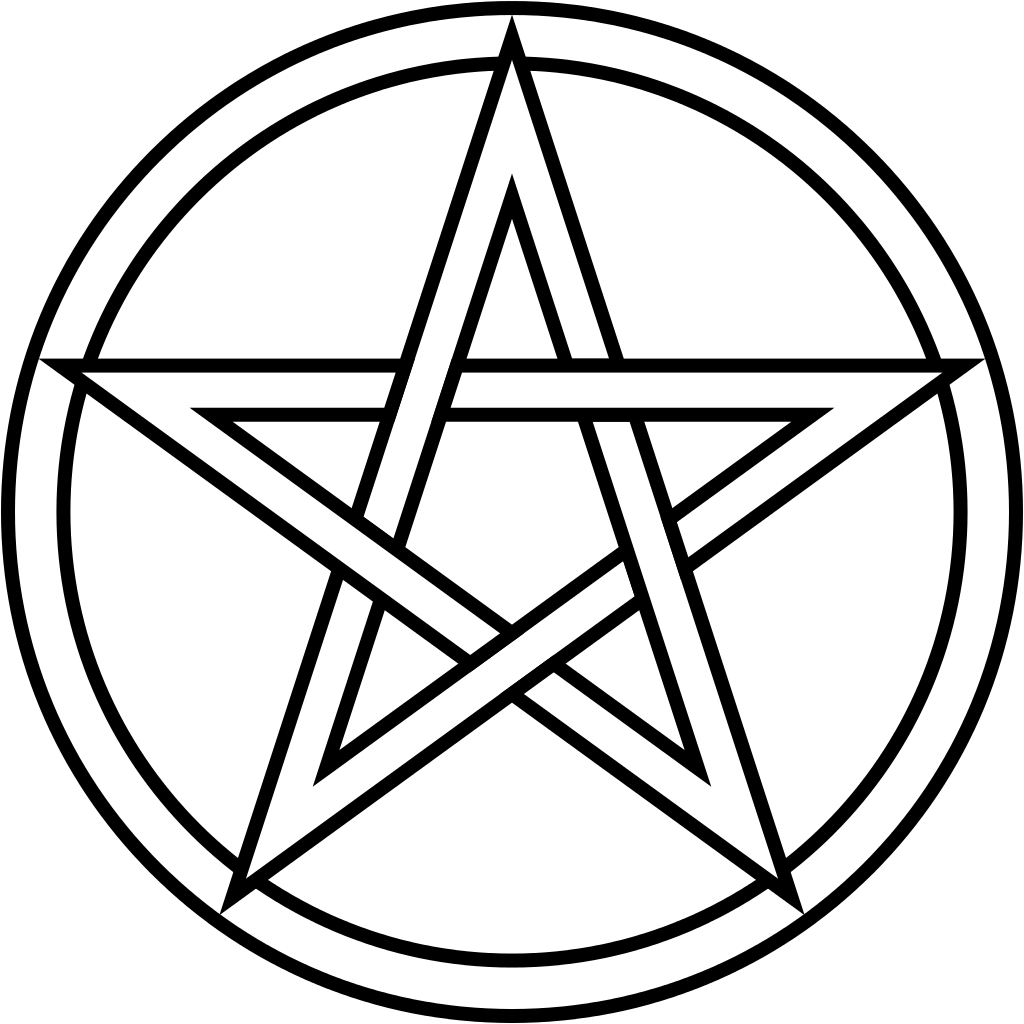 Pentacle vector. Png