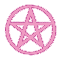 Clippix free pastel clip. Pentacle transparent goth clipart royalty free