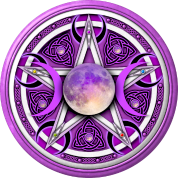Purple moon pentacle men