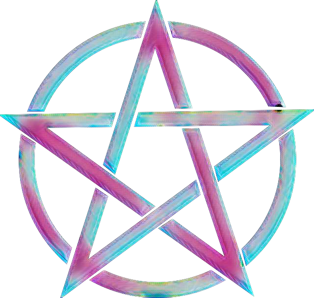 Pentacle witch pagan symbol