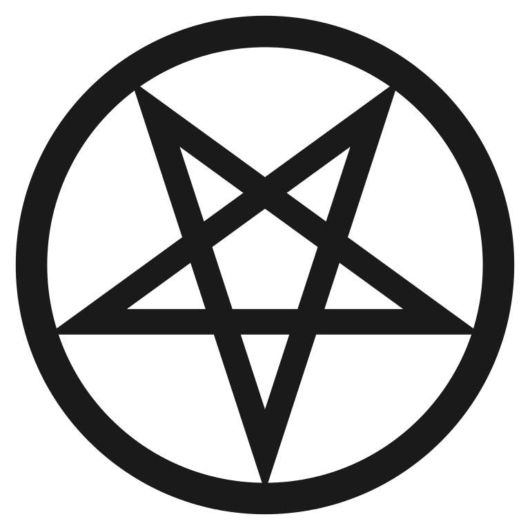 File inverted bold svg. Pentacle vector png black and white library