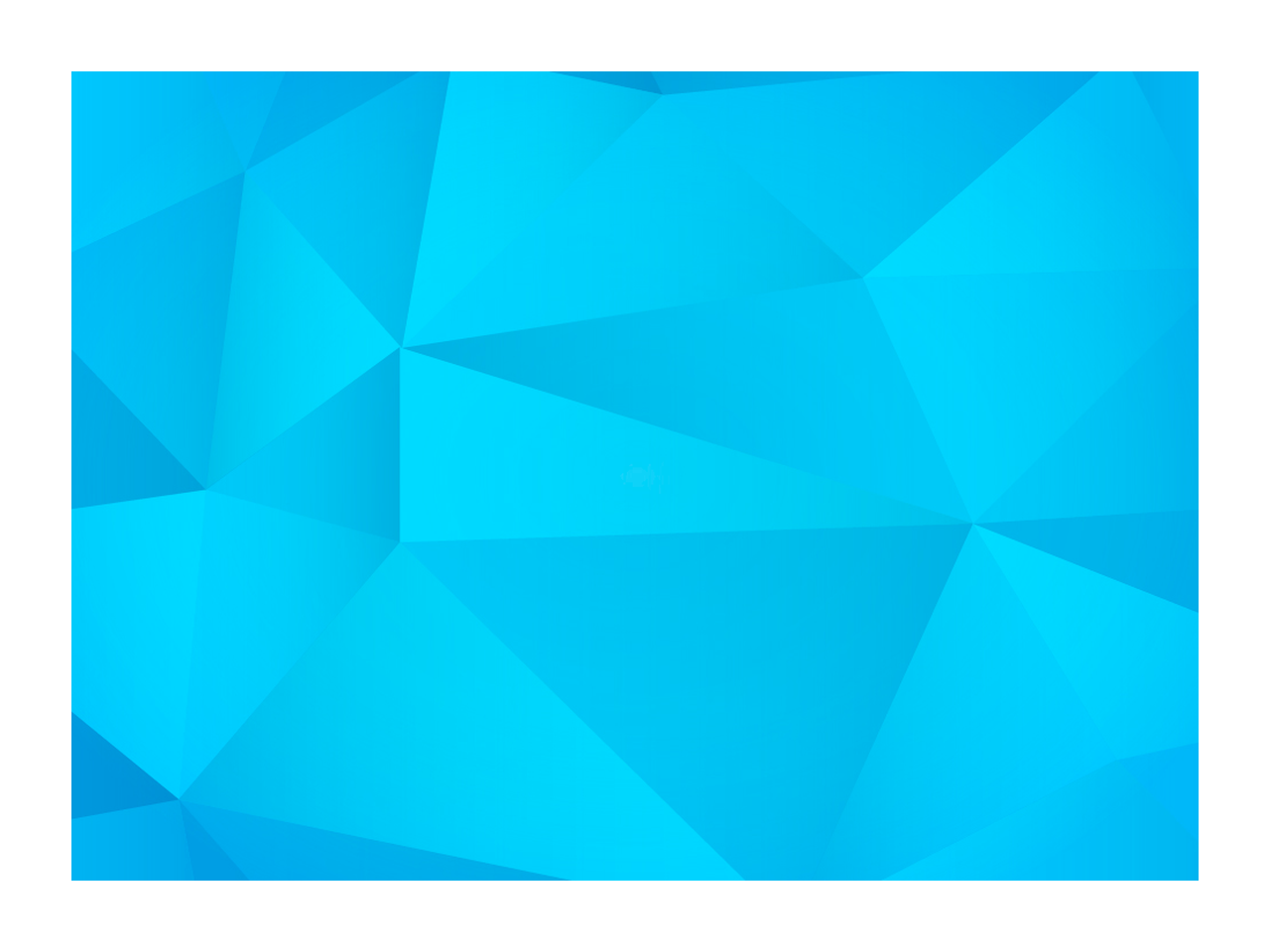 Tessellation vector flat design. Graphic create a polygonal