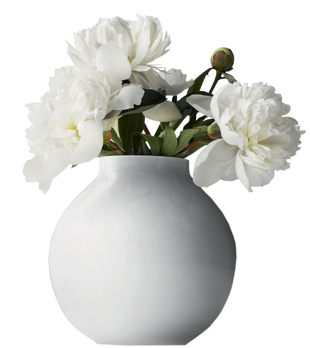 flowers in a vase png