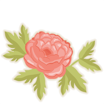 Peonies vector. Collection of free folwe
