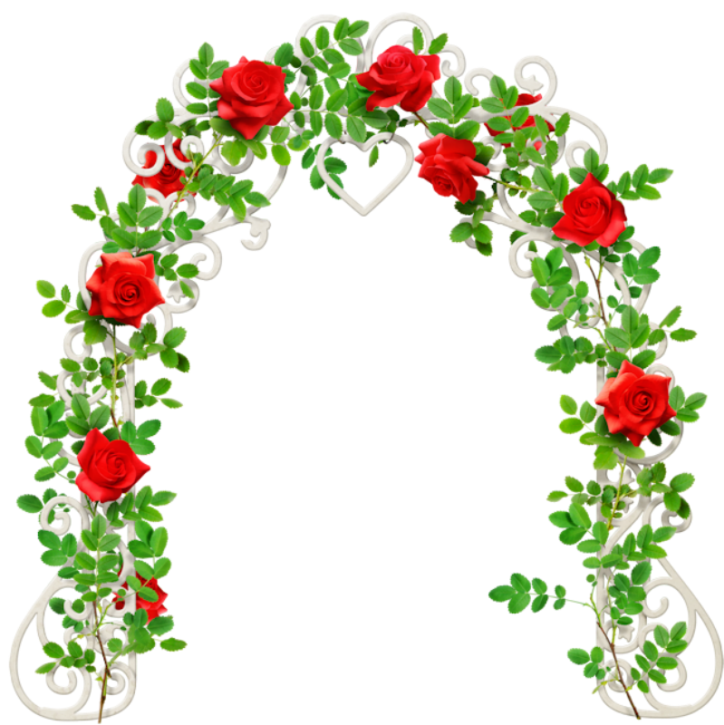 Peony clipart floral arch. Forgetmenot arches with roses
