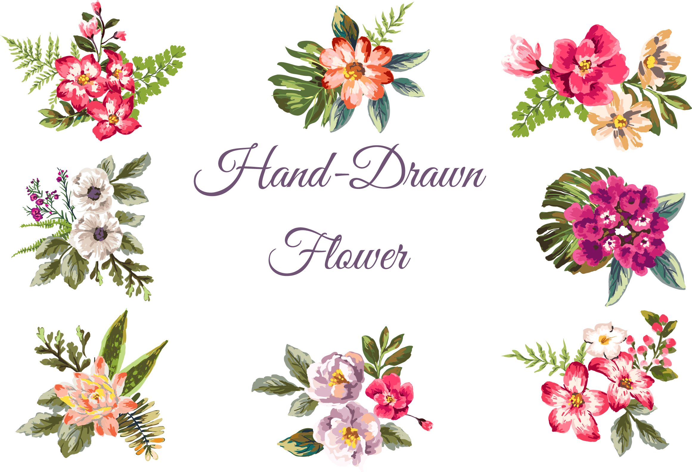 Peony clipart hand drawn. Http store up com