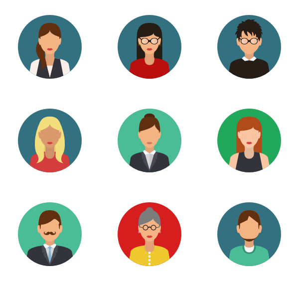People icon png. Culture free icons svg