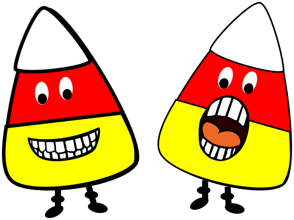 People clipart candy. Corn food desserts snacks