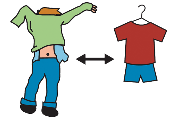 Change clipart. Free changing clothing cliparts