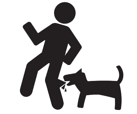 People clipart dog. Free biting cliparts download