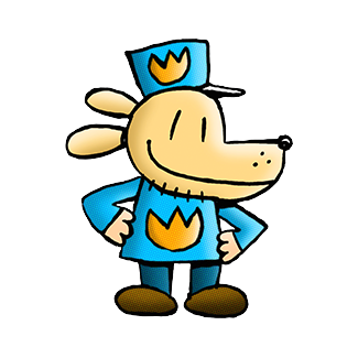 Book series dav pilkey. People clipart dog royalty free download