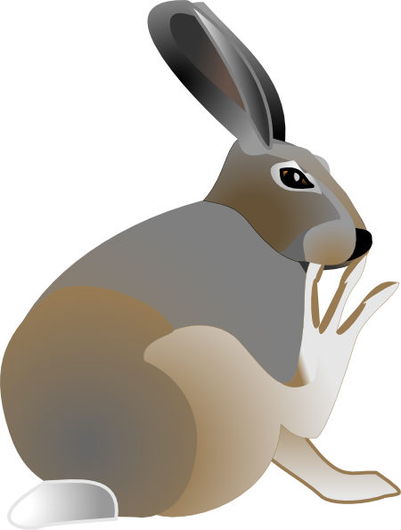 People clipart itchy. Rabbit clip art at