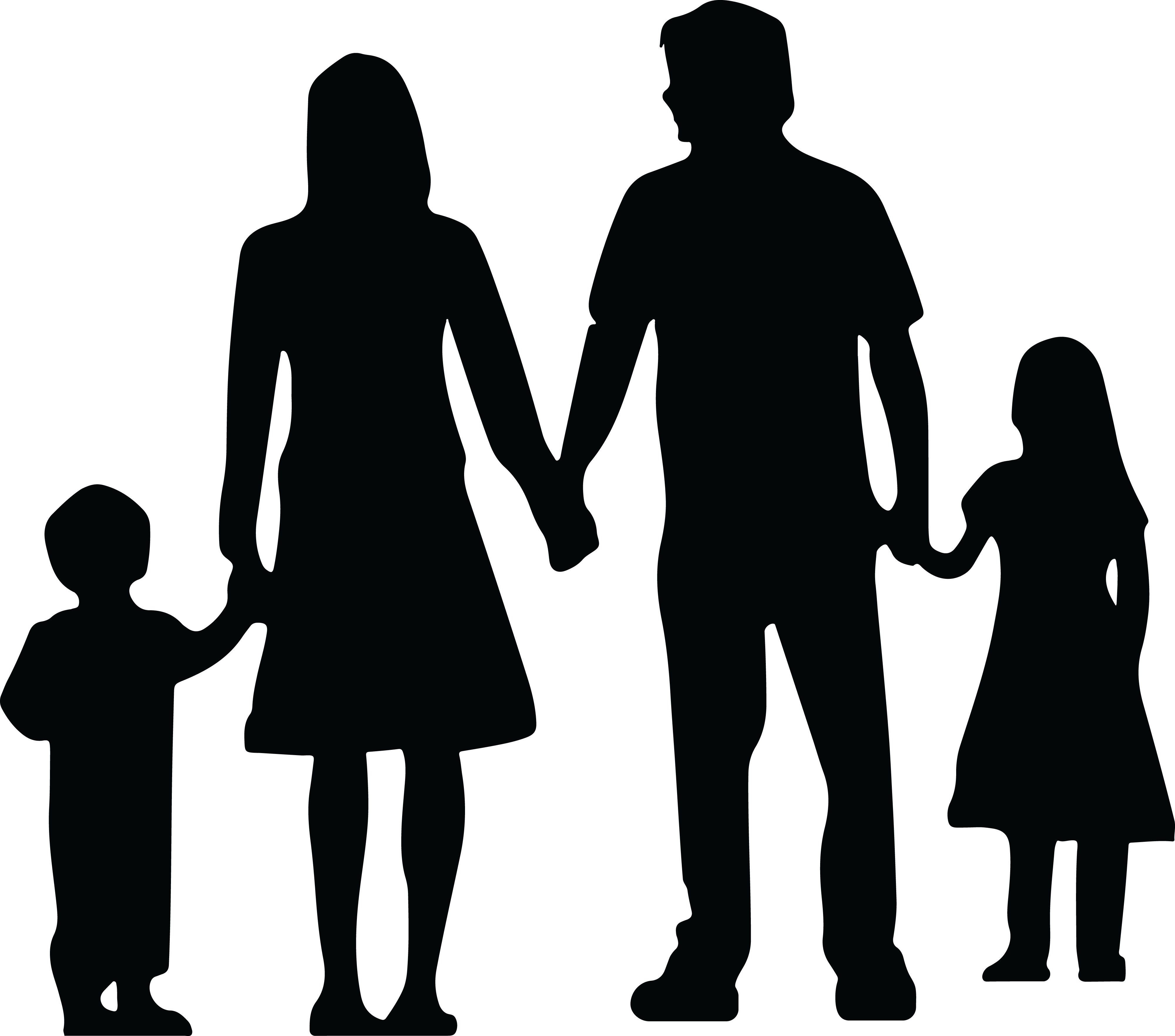 People holding hands png. Silhouette at getdrawings com