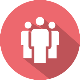 Social people icon png. Flat vol iconset graphicloads