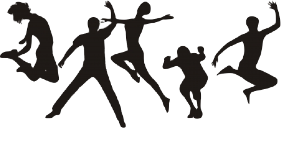 People jumping png. For joy transparent images