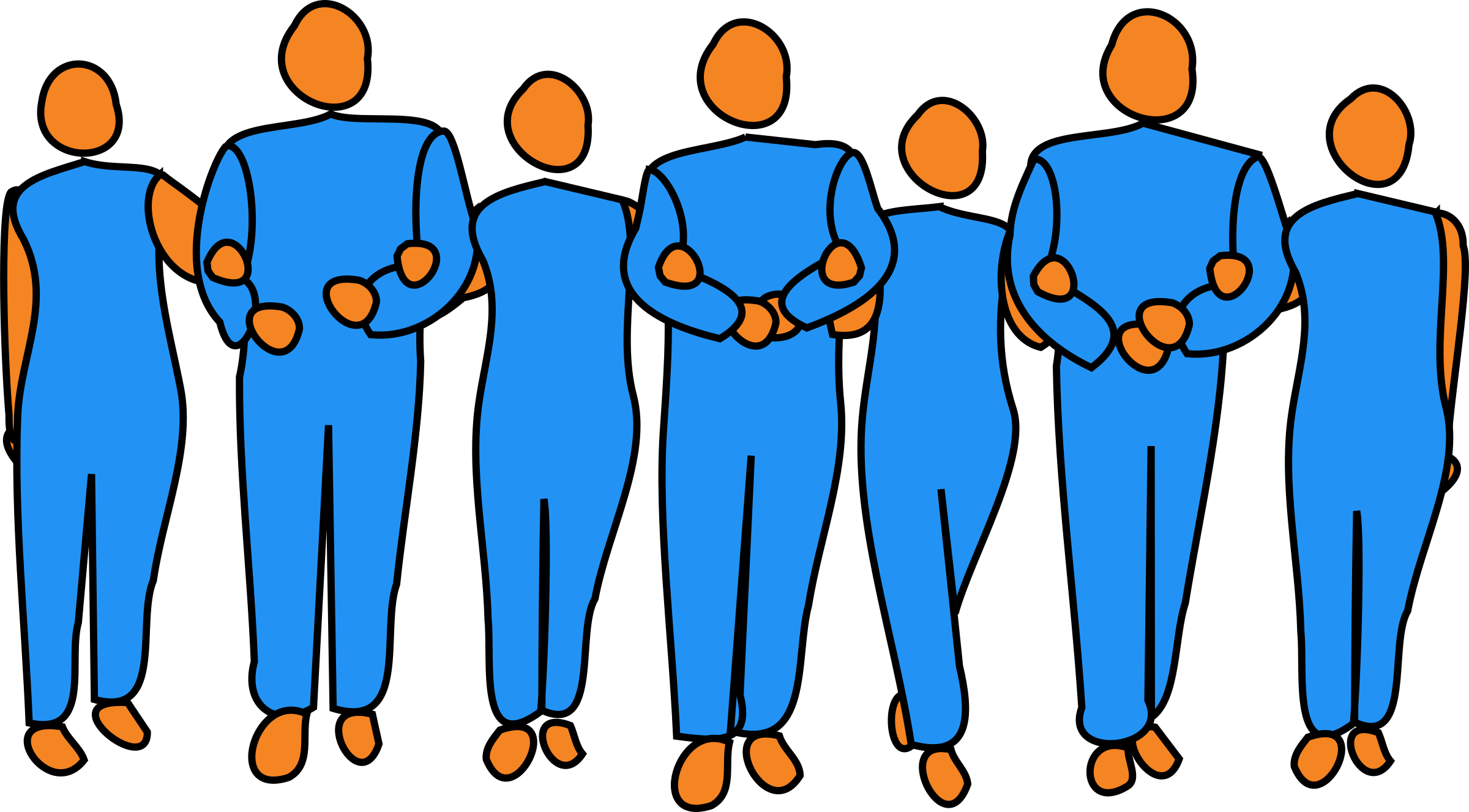 People linking arms png. Collection of linked