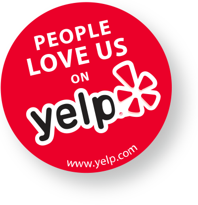 People love us on yelp png. Award recipient we got