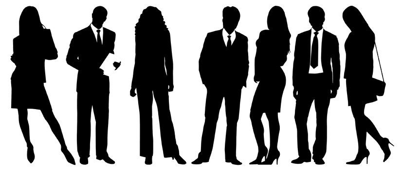 People png black and white. Security by cudavision solutions