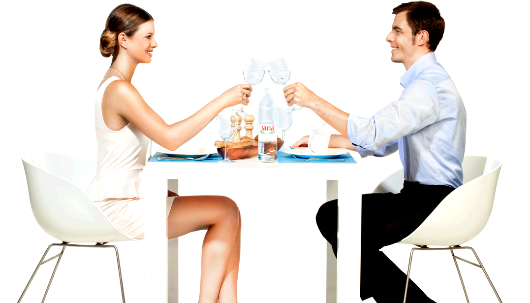 People sitting at table png. Water drink clip art