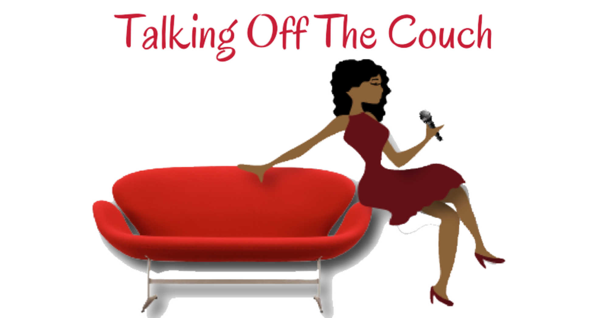 People sitting on a couch png. Talking off the its