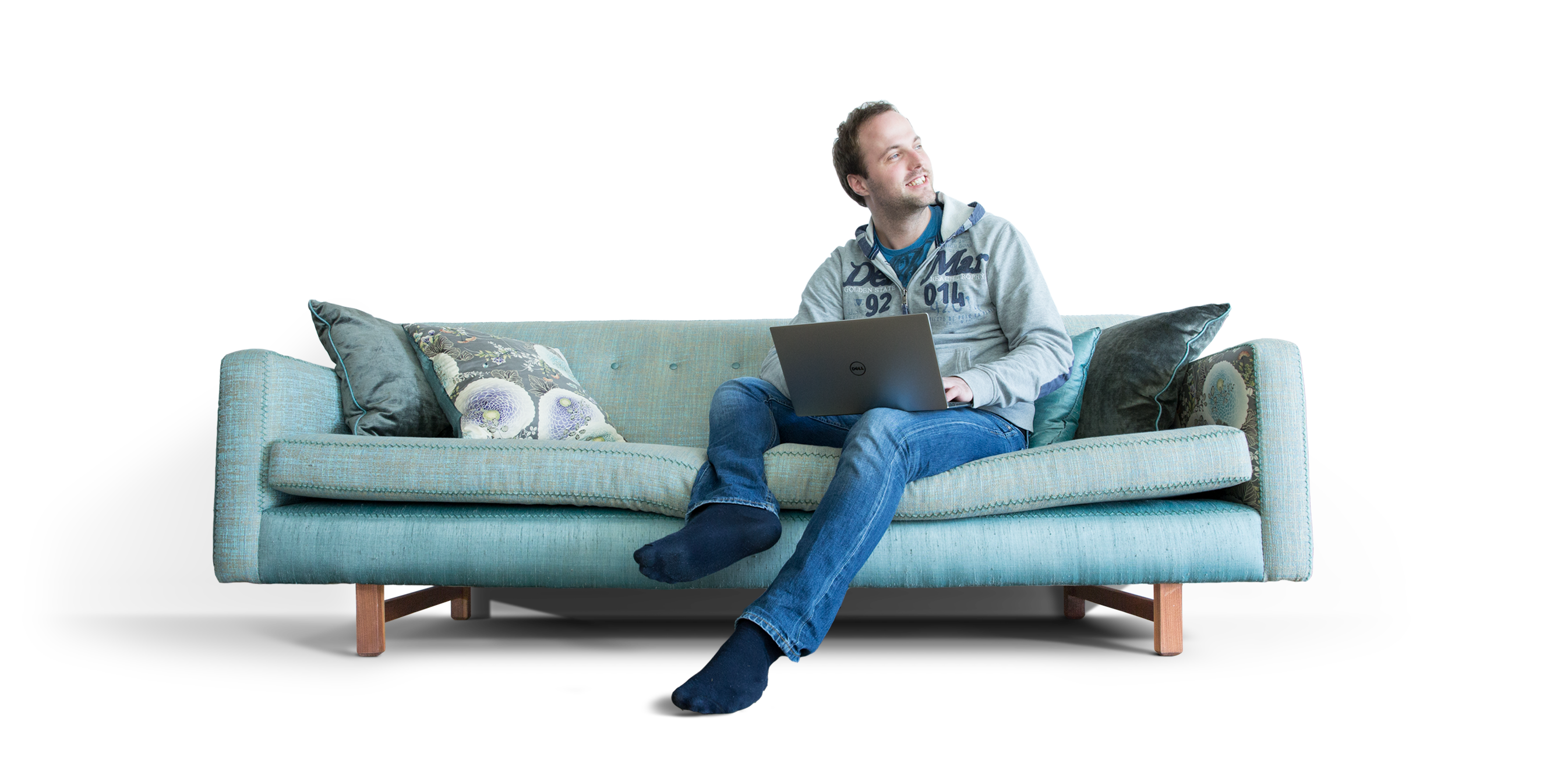 People sitting on a couch png. Table furniture sofa bed