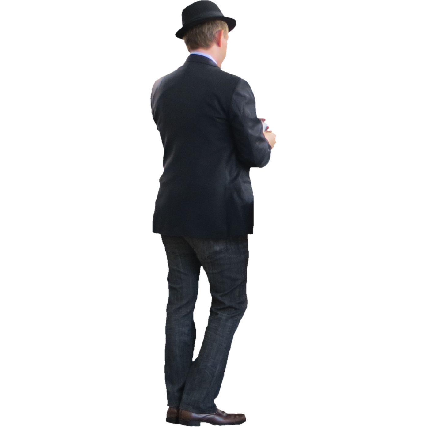 People standing back png. Man images transparent free