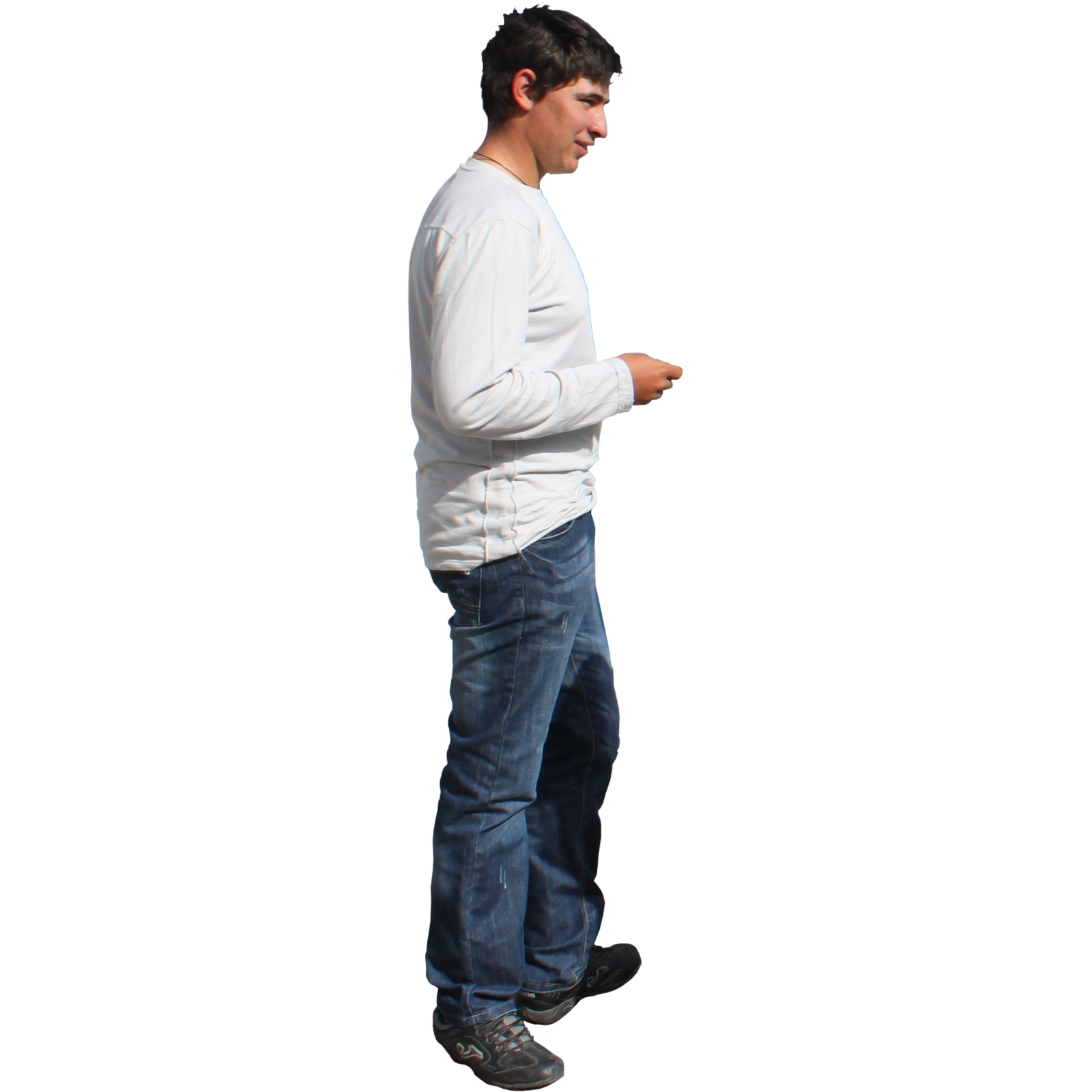 Person standing png. Man by klearchos