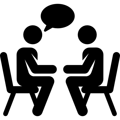 People talking icon png. Free icons