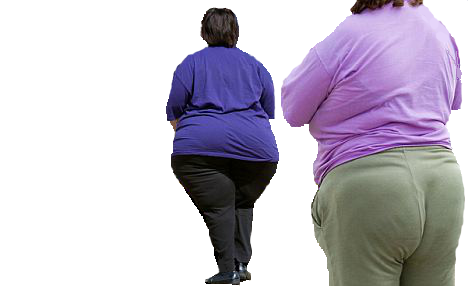 Person walking away png. Fat people by mccormickld