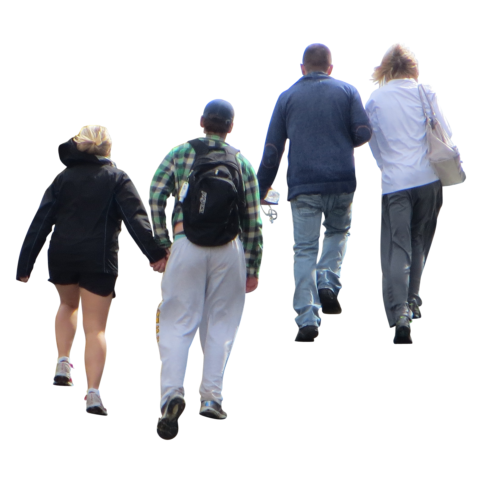 People walking down stairs png. Up immediate entourage chainimage