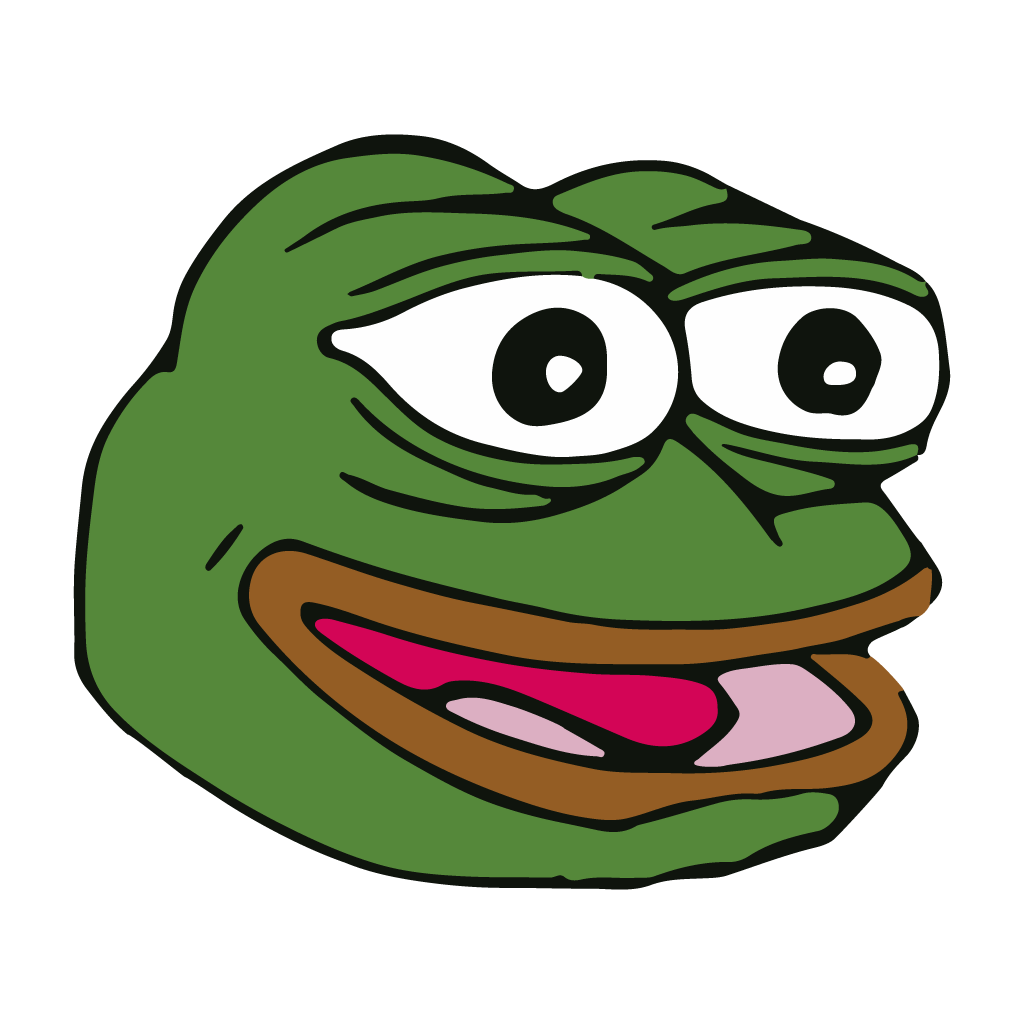 Feelsbadman png. Pepe the frog transparent