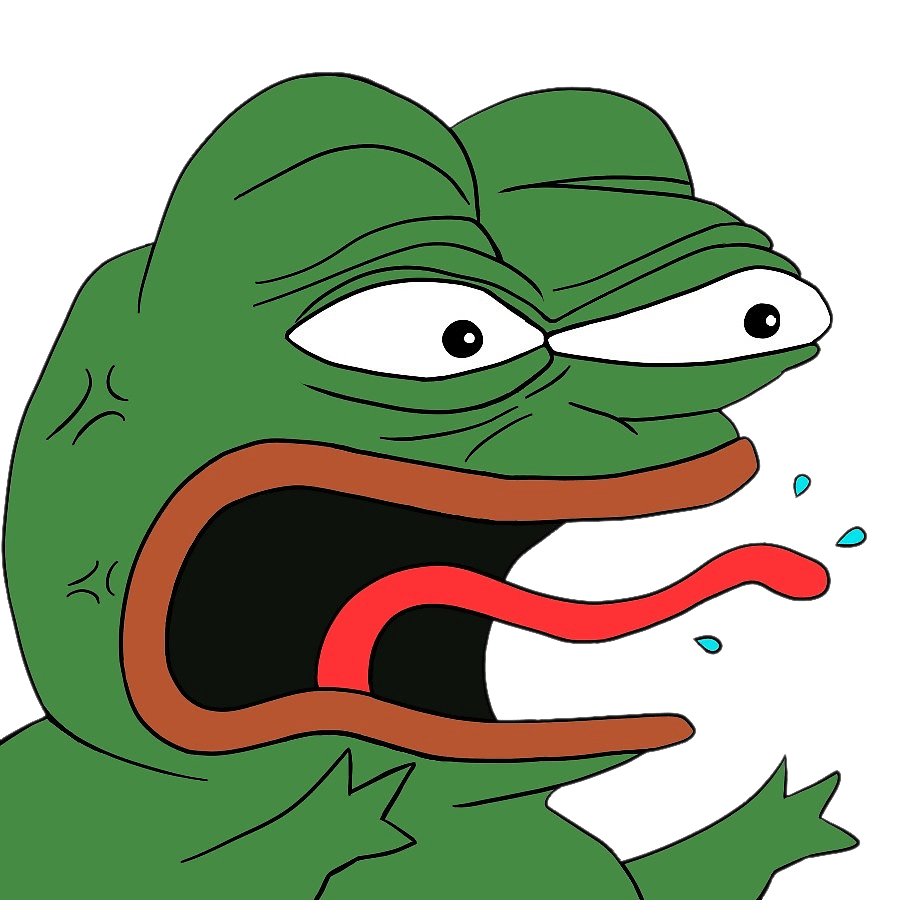 Pepe emoji png. The frog transparent images