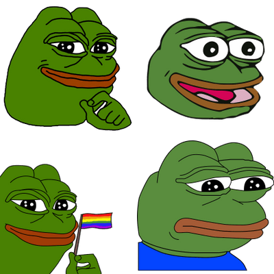 Pepe transparent png. The frog stickpng free
