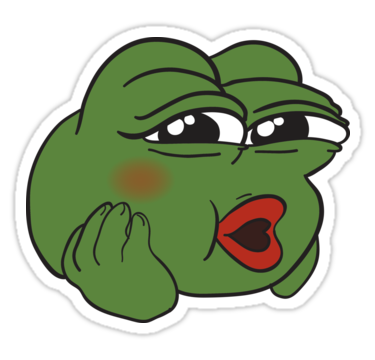 Pepe frog sad png. Cute the stickers pinterest