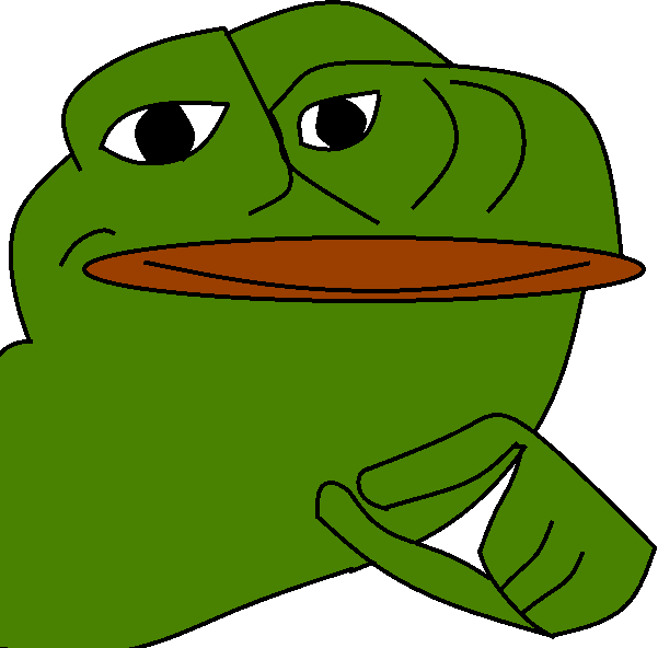 Pepe vector clear background. No check all