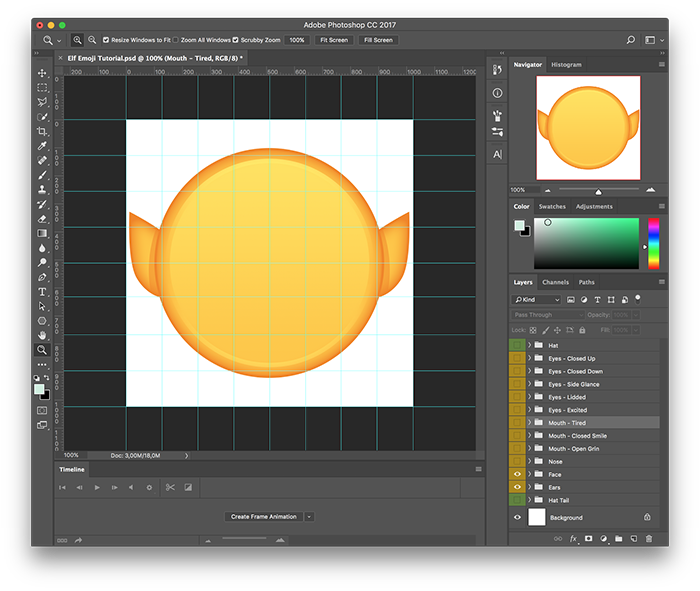 Emojis drawing inside out. How to create your