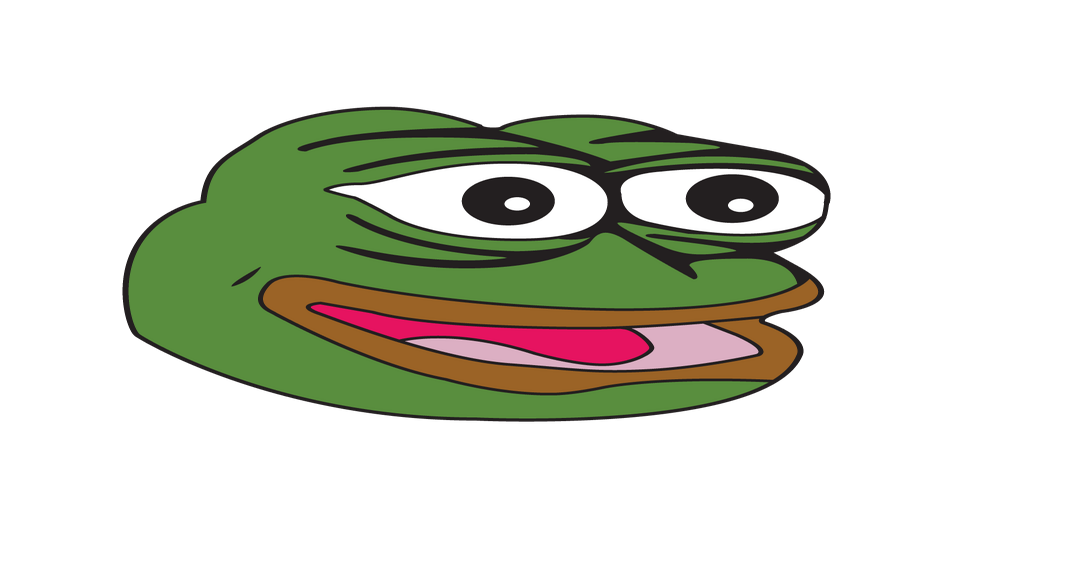 Feelsgoodman hd pepefrog . Pepe vector feels good man black and white download
