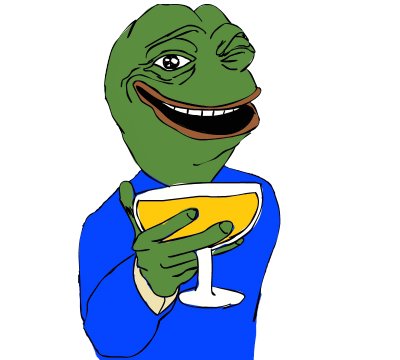 Png well meme happy. Pepe vector feels good man clip art black and white library