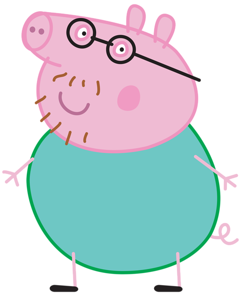 daddy pig png