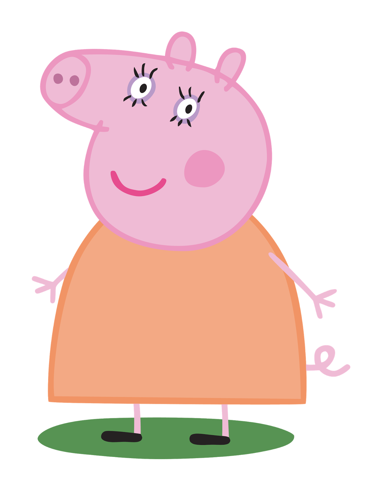 Peppa pig em png. Daddy transparent stickpng mummy