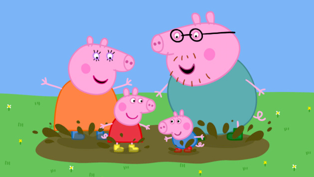 Peppa clipart daddy pig. Eone s heading to