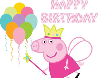 Peppa clipart happy birthday. At getdrawings com free