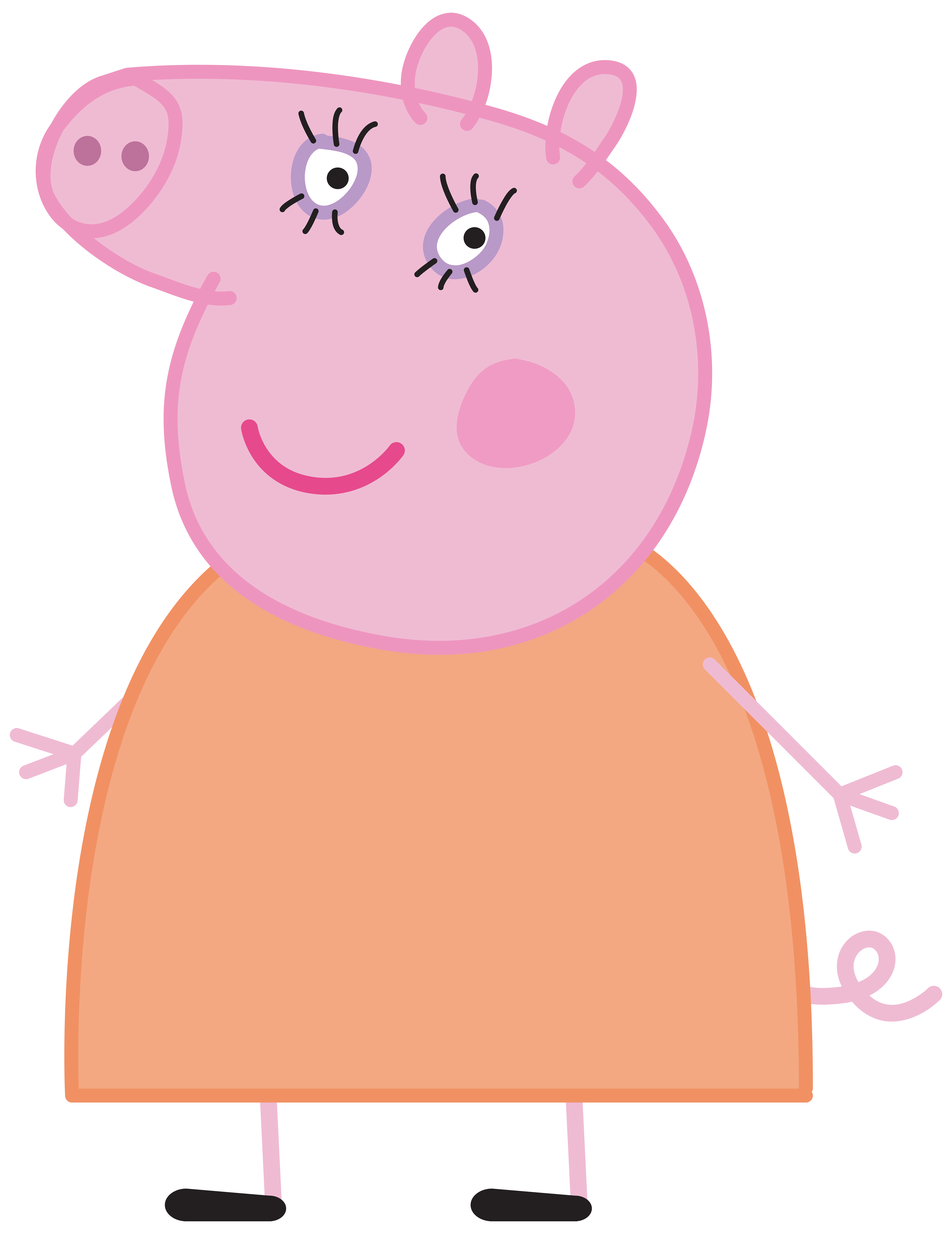 Mummy pig png. Peppa transparent image gallery
