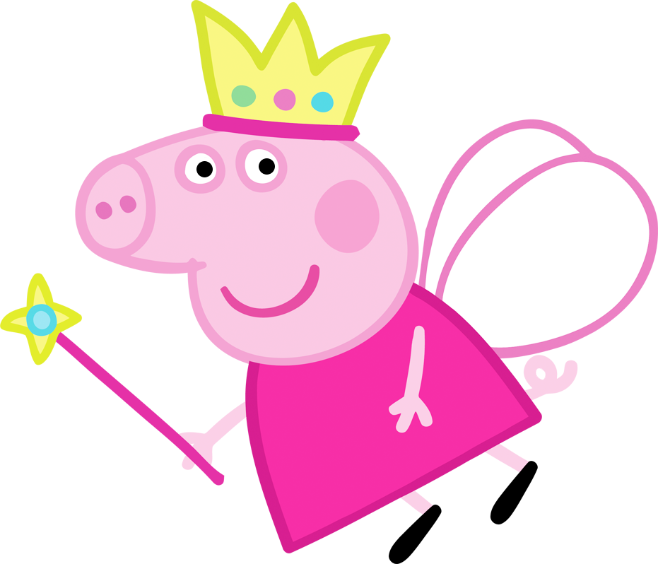 Peppa pig fairy png. Peppapigpngfazendoanossafesta pinterest party printables