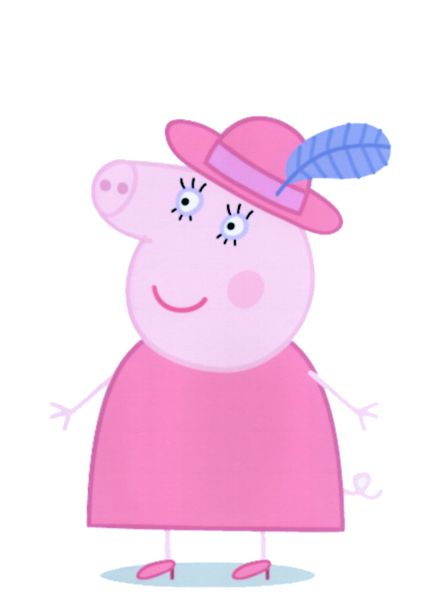 Peppa pig bailarina png. Minus already copied pinterest
