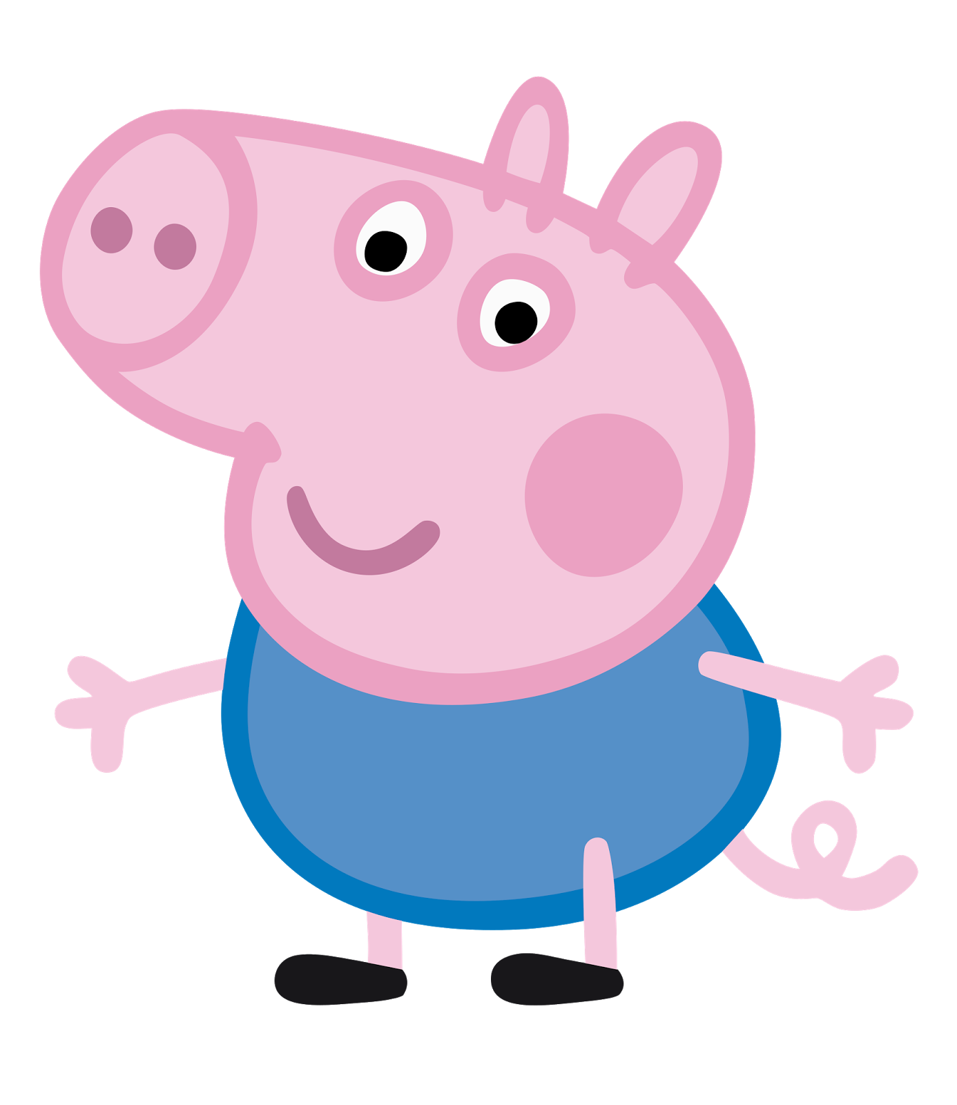 Peppa pig bailarina png. George pixels crafts to