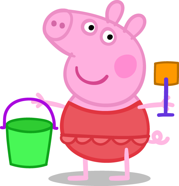 Peppa pig fairy png. Happy pinterest