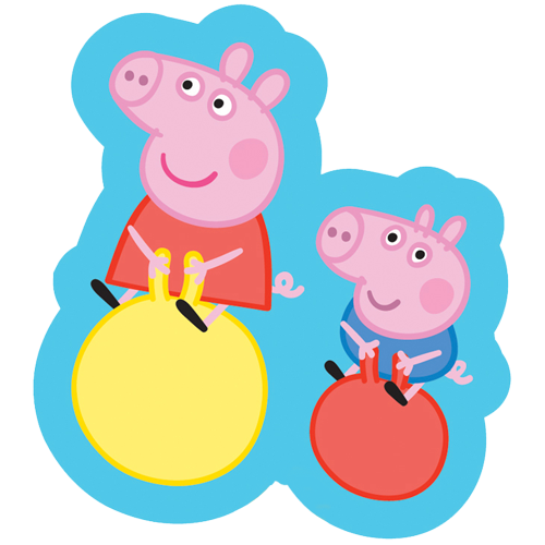 Peppa pig balloons png. Supershape foil balloon